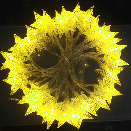 3M LED light Stars Yellow