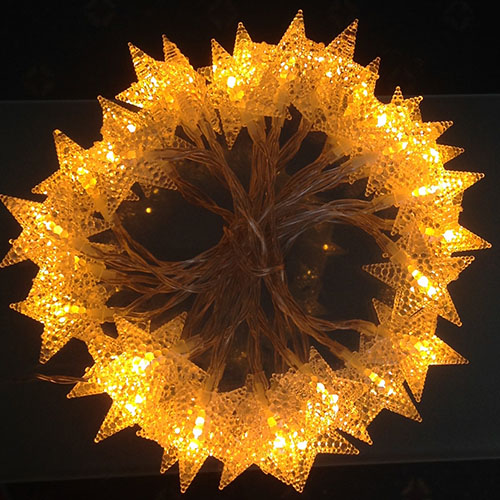 3M LED light Stars Orange