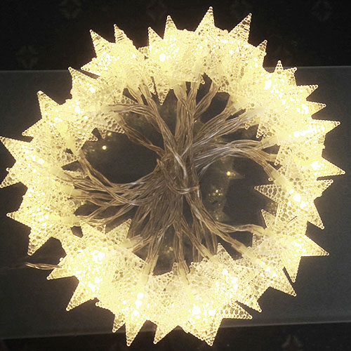3M LED light Stars Warm White