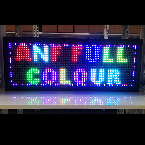 LED Scrolling Sign Board Full Colour 3-2