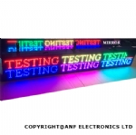 Double Sided Colour LED Sign Board